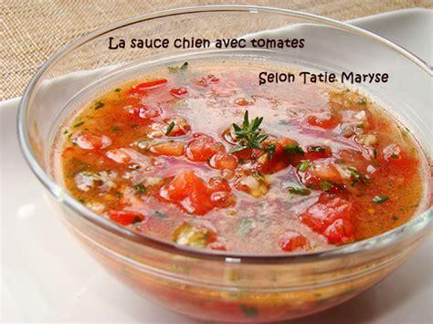 la cuisine de maryse la sauce chien avec tomate id 233 ale pour le poisson