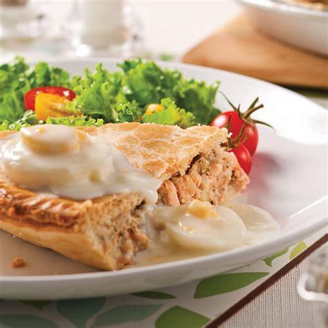 p 226 t 233 au saumon et sauce aux oeufs recettes cuisine et