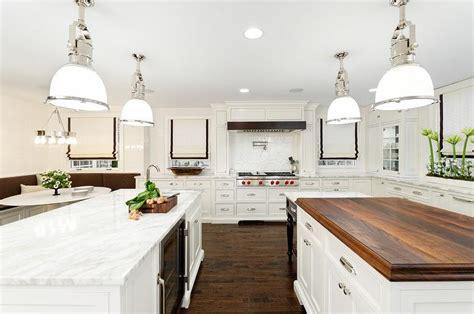 gourmet kitchen islands gourmet kitchen with three islands transitional kitchen
