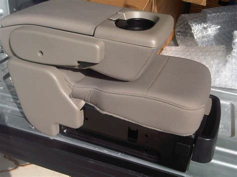 tan console jump seat ford  forum community