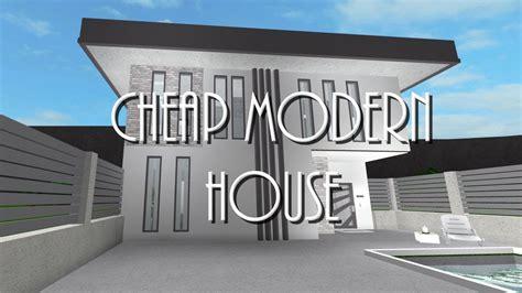 Roblox  Welcome To Bloxburg Cheap Modern House  Clipzuicom