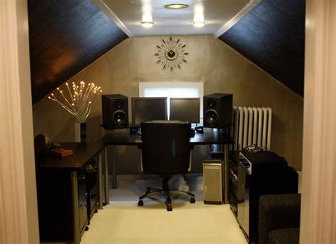 bureau pour home studio home studio office design contemporain bureau à