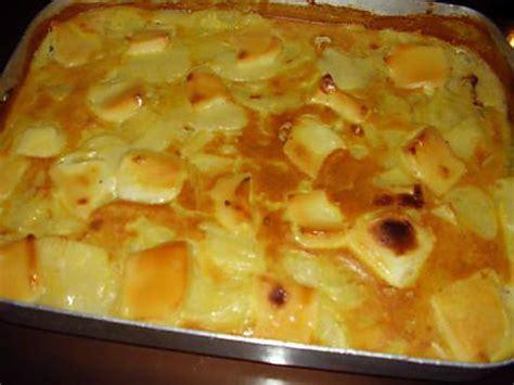 recette de cuisine pomme de terre recette gratin de pomme de terre