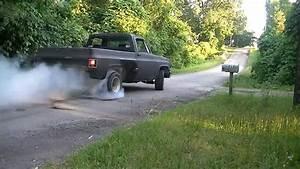 82 Chevy C10 Posi Burnout 350