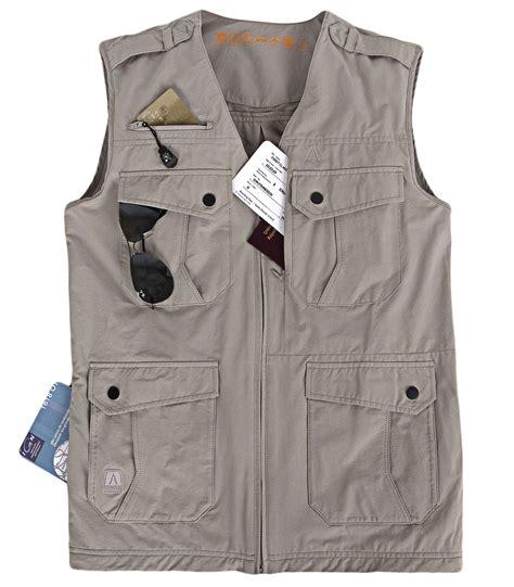 gilet reporter homme gilet multipoches homme