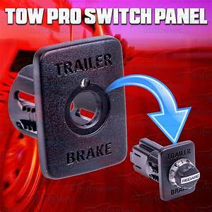 Redarc Tow Pro Towpro Dash Panel Mount Switch Insert