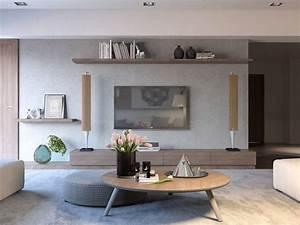 Salon Moderne Trente Exemples D39intrieurs Cratifs