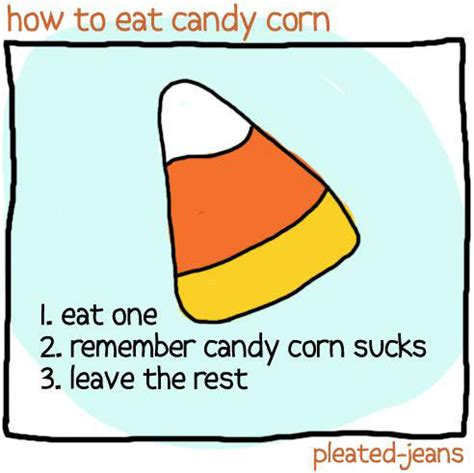 Candy Corn Meme - a definitive ranking of the best and worst halloween candy