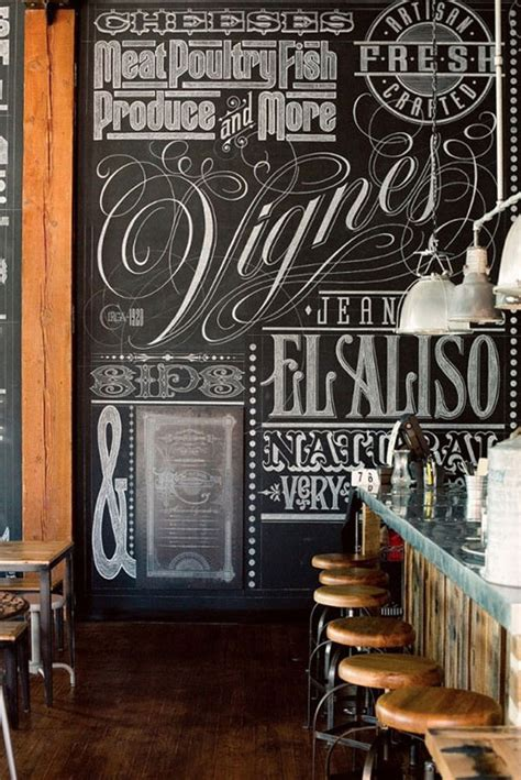 awesome chalkboard typography arts web graphic