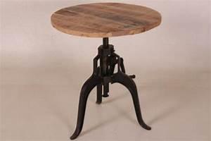 Bistrotisch Rund Holz : beistelltisch metall rund g nstig kaufen bei yatego ~ Indierocktalk.com Haus und Dekorationen