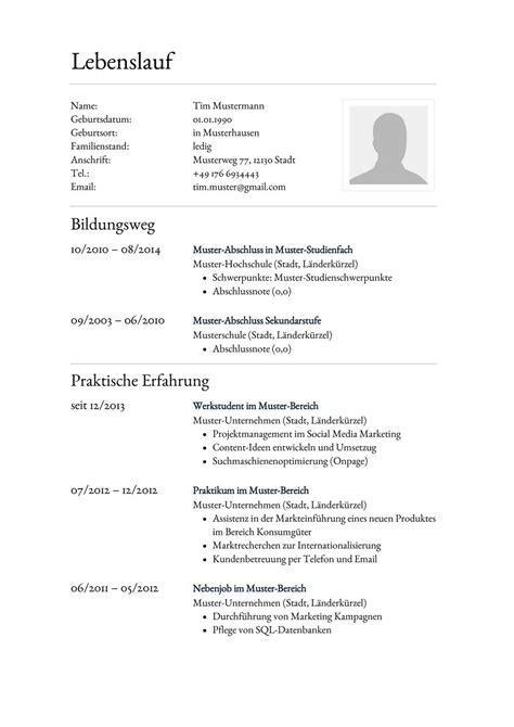Lebenslauf Vorlage by Lebenslauf Muster F 252 R Anwaltsgehilfe Lebenslauf Designs