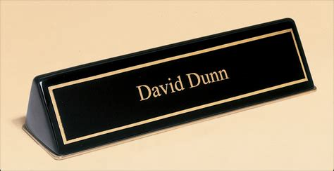 desk name plate designs nametags name plates edmond trophy awards