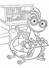 Monsters Coloring Pages University Fun sketch template