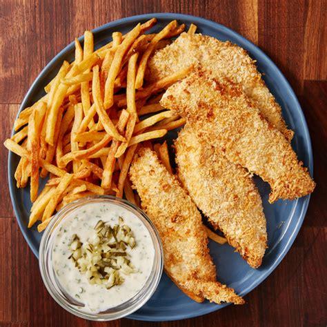 fryer fish air fry walleye fried recipes delish recipe chips cooking frying deep simple parker fillet water menu boleh cook