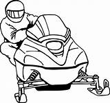 Snowmobile Clipart Ski Doo Coloring Pages Clip Drawing Cliparts Printable Clipartmag Getdrawings Getcolorings Baseball Advertising Print Library sketch template
