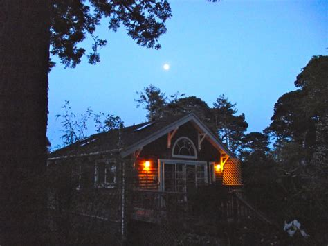 secret garden cottage at twilight an almost