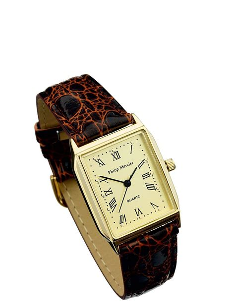 Square Face Gold Watches