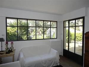 Veranda Style Atelier : fen tres style atelier baie vitr e pinterest extensions salons and future ~ Melissatoandfro.com Idées de Décoration