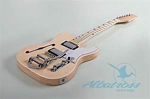 Albatross Guitars Gk007m Semi Hollow Body Electric Guitar