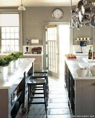 Martha Stewart Kitchen Cottage kitchen Martha Stewart Bedford Gray Martha Stewart
