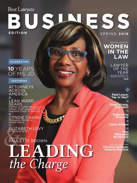 Best Lawyers Spring Business Edition 2016 by Best Lawyers ...