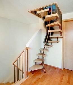 Treppe Dachgeschoss Wenig Platz Hpl Treppen Und Raumspartreppen