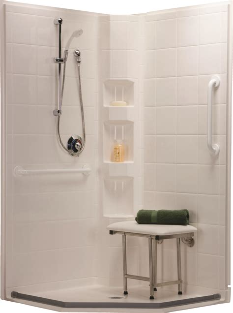 In Shower - barrier free showers and roll in showers in new jersey