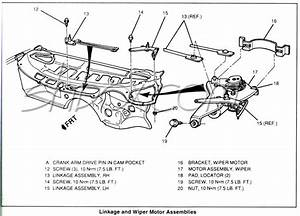 Wiring Diagram For Windshield Wiper Motor