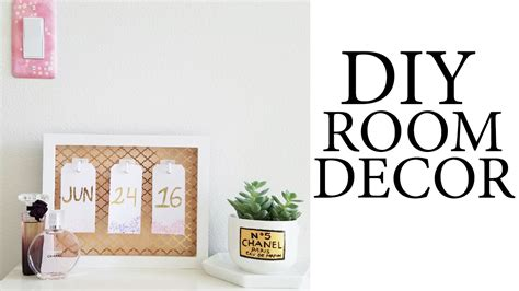 Diy Tumblr & Pinterest Inspired Room/desk Decor