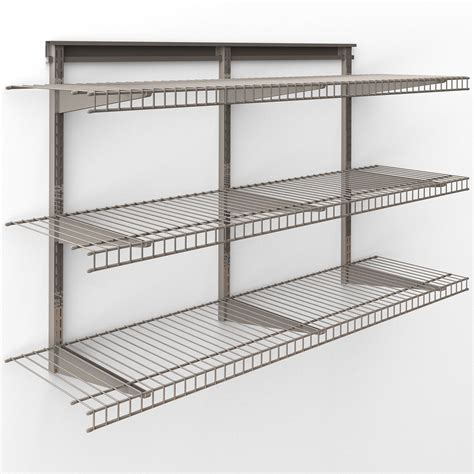 Closetmaid Shelf System by Closetmaid Shelftrack 48 Quot W X 30 Quot H Shelving System