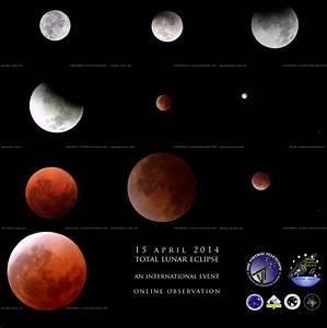 15 April 2014 - Total Lunar Eclipse: report and souvenir ...