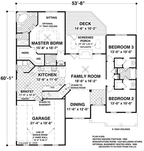 colonial style house plan  beds  baths  sqft plan   houseplanscom