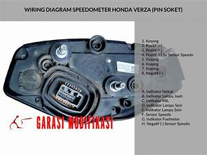 Wiring Diagram Speedometer Honda Verza  U2013 Child Blog Garasi