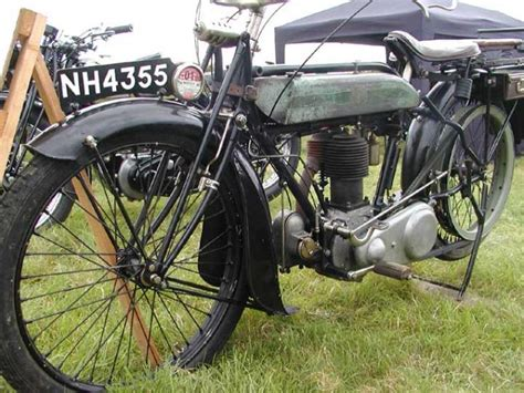 1922 Triumph Model H Classic Motorcycle Pictures