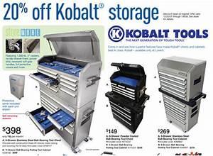 Dealmonger: 20% Off Kobalt Tool Storage Toolmonger