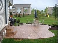 nice concrete patio design Michigan Concrete Contractor-Driveways-Patios-Porches ...
