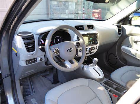 kia soul interior 2016 2016 kia soul ev test drive our auto expert