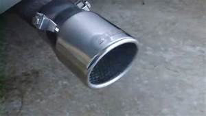 Pilot Motorsport Exhaust Tip Sound Demo  Video 2