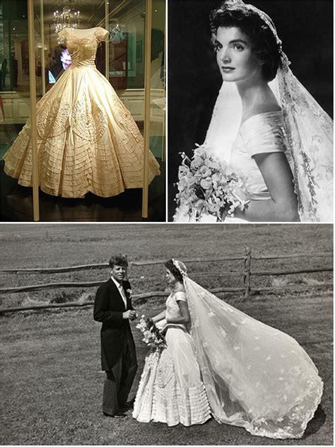 iconic wedding dresses jacqueline bouvier  wedding