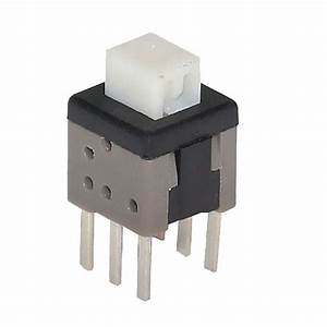 Pb 22e60h7 3 5 8mmx5 8mmx7 3mm Mini Pushbutton Switch Dpdt