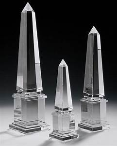 Crystal Accessories - Crystal Obelisks and Solid Crystal