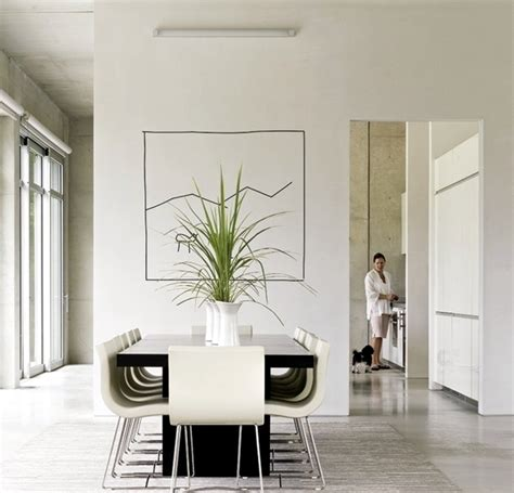 interior design ideas minimalist white dining room design interior design ideas ofdesign