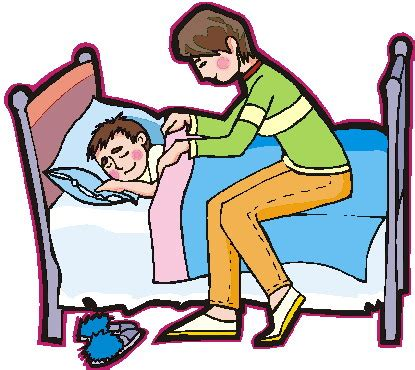 kid going to bed clipart clip clip sleeping 614183