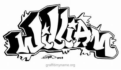 William Graffiti Billy Alphabet Lettering Letters Names