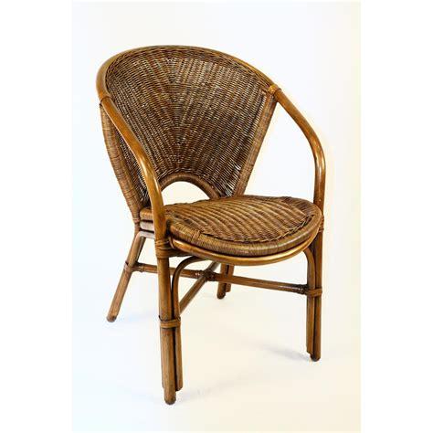 indoor rattan wicker arm chair