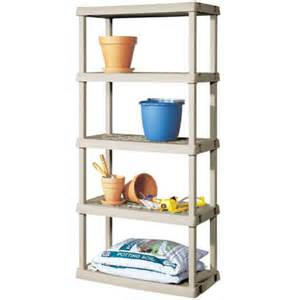 sterilite 5 shelf unit light platinum walmart com