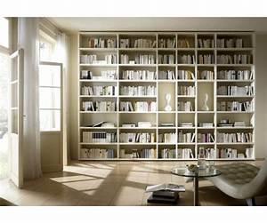 Grande Bibliothèque Murale : grande biblioth que murale meuble biblioth que ~ Teatrodelosmanantiales.com Idées de Décoration