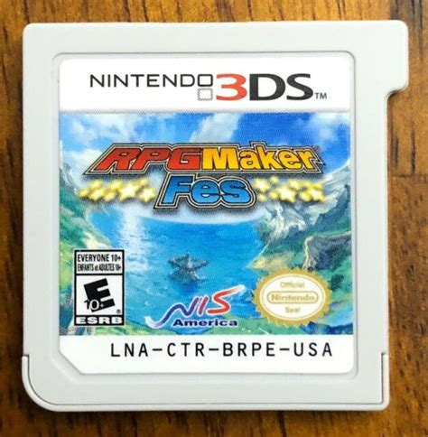 ds gamemaker had revolutionized the world of nds 2d game creation, by providing easy visual from the developer: RPG Maker FES (Nintendo 3DS Game) | eBay