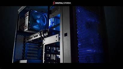 Gaming Pc Computer Wallpapers Desktop Digital Storm