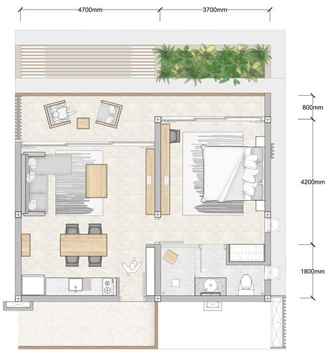 1 bedroom floor plan bay apartments by bay residence koh